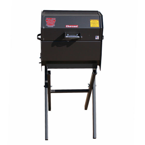 Cajun Smokin' Junior Charcoal Grill on Folding Stand