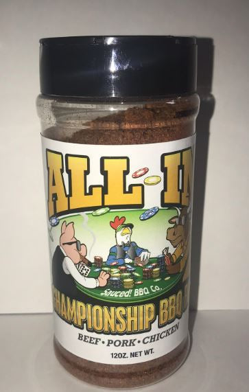 All In Championship BBQ Rub