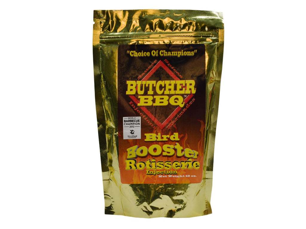 Butcher BBQ: Bird Booster Rotisserie Injection