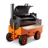 The CIMARRONs Pellet Competition Smoker