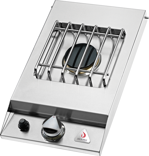 Delta Heat Single Side Burner Drop In