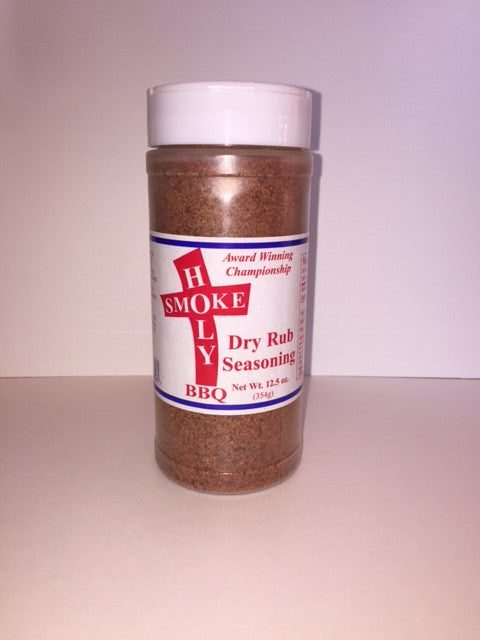 Holy Smoke: Dry Rub Seasoning