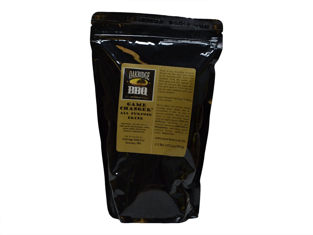 Oakridge BBQ Game Changer All Purpose Brine