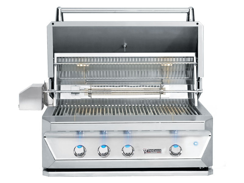 "Twin Eagles 42"" 3 Burner Built In Gas Grill"