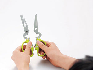 Multi-functional kitchen scissors made of stainless steel SP SAUCE