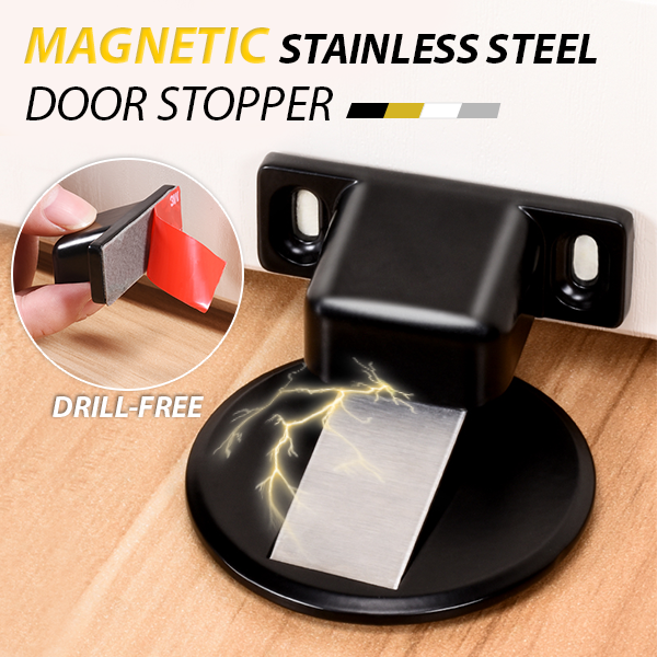 【40% OFF】Zinc alloy invisible magnetic doorstop