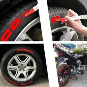 🔥Waterproof, Non-Fading Tire Paint Pen,12 color suit🖌