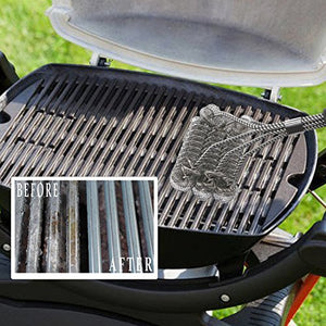 BBQ Cleaning Brush Grill Wire Stainless Steel Barbecue Scraper Tool Bristle New