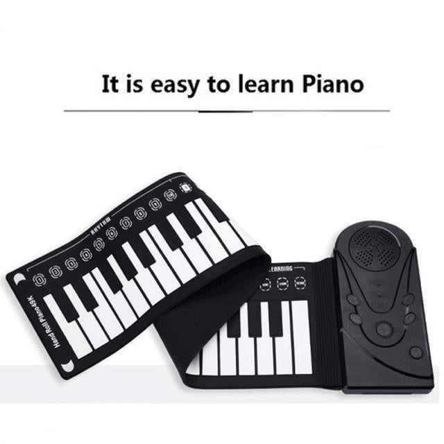💕Best gift - hand roll portable piano 【50%OFF】🔥