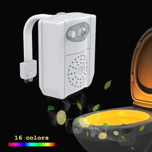 Colorful Human Motion Sensor Toilet Light Bathroom Night Light