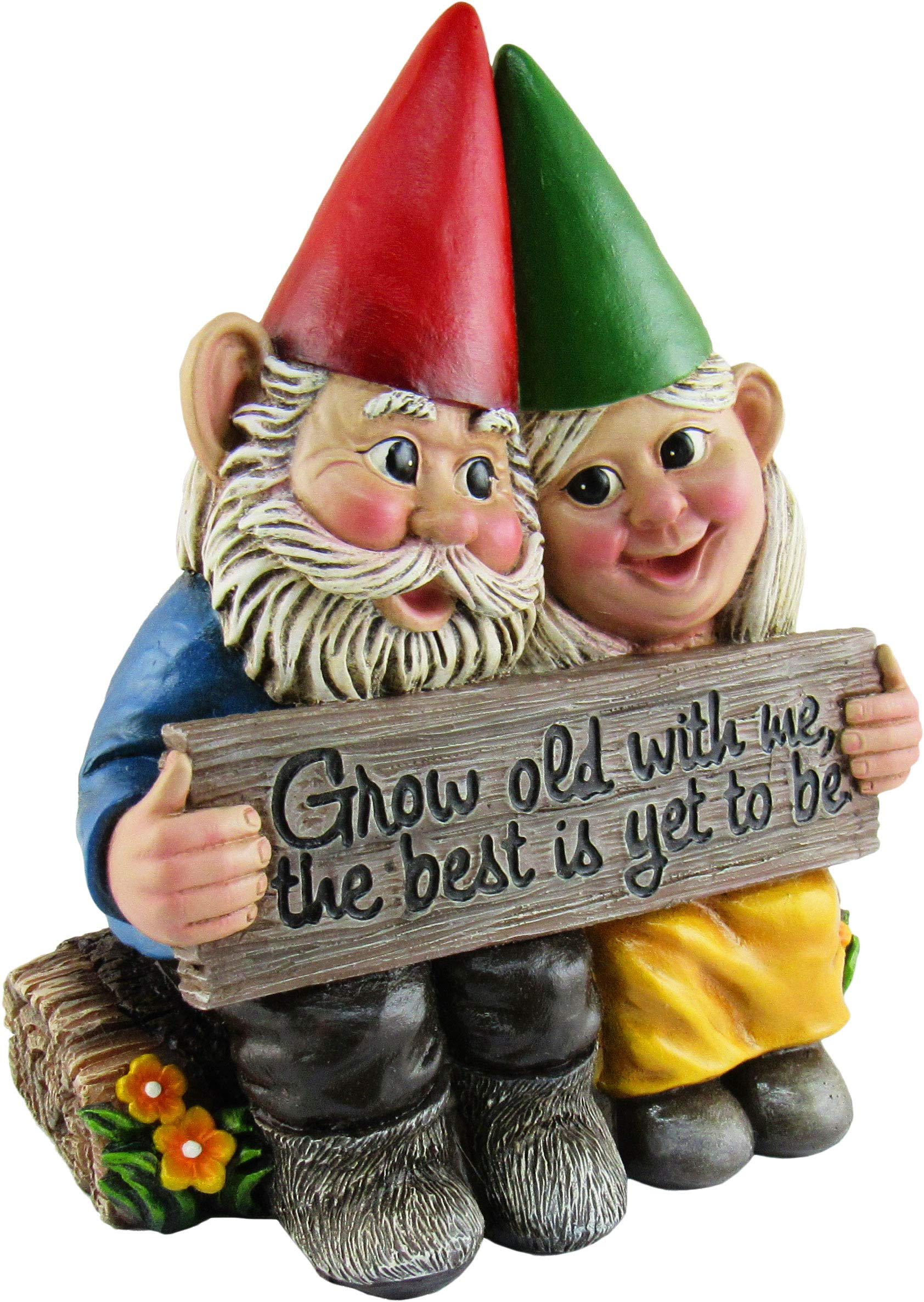 Growing Old Together - Garden Gnome Statue