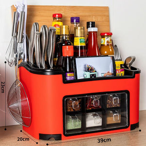 【50% discount for a limited time】Kitchen Storage Rack Spice Box