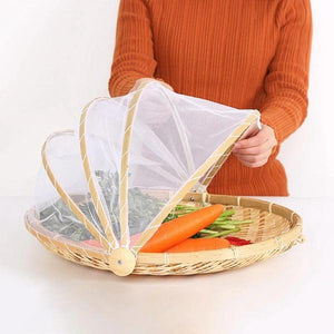 Hand-Woven Food Serving Basket