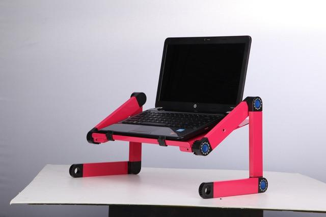Adjustable Aluminum Laptop Bed Desk  With Mouse Pad | Laptop Table