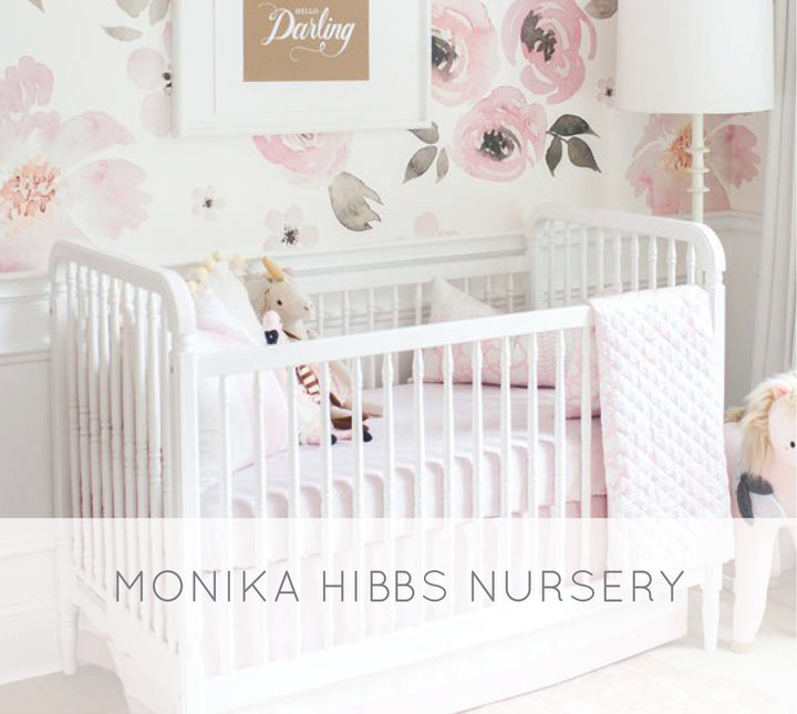 Monika Hibbs's Oh-So Sweet Blush Pink Nursery