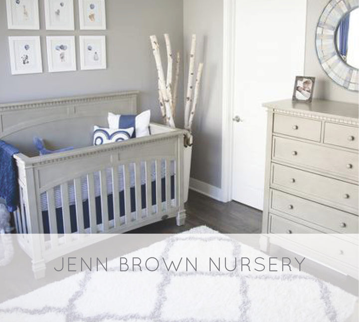 Jenn Brown & Wes Chatham's Nursery