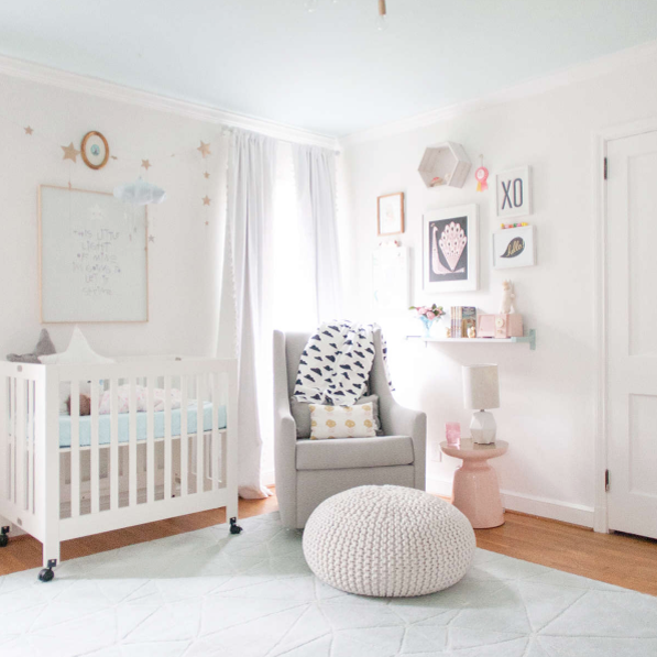 Ellie's nursery by Joni from Lay Baby Lay