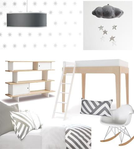 Kids Room Design Board
