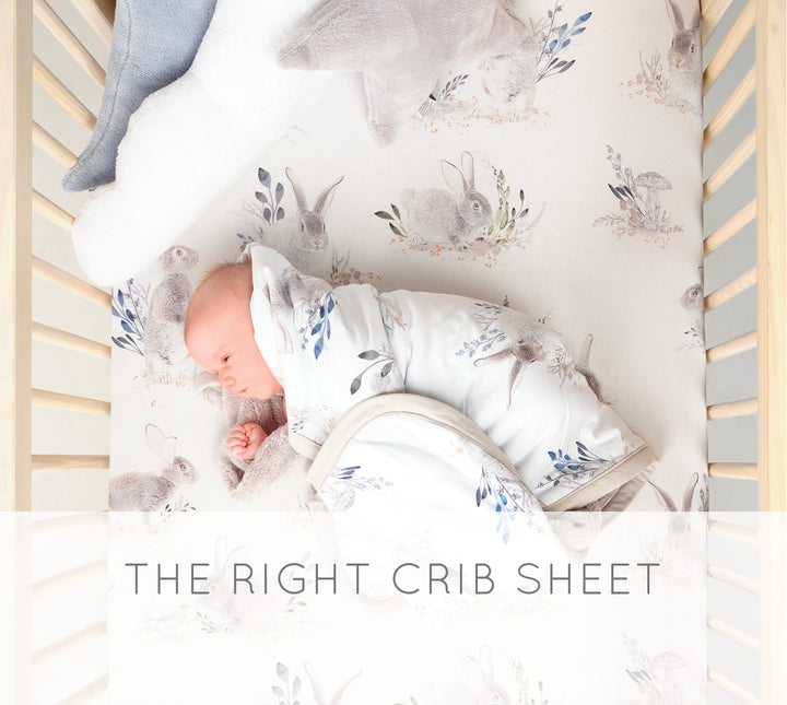 Choosing the Right Crib Sheet and Size