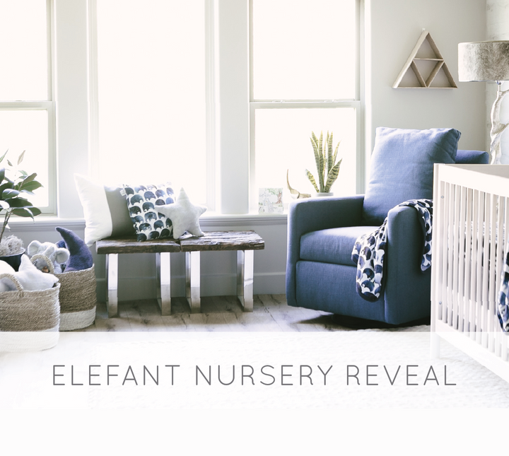 Elefant Nursery Room Reveal