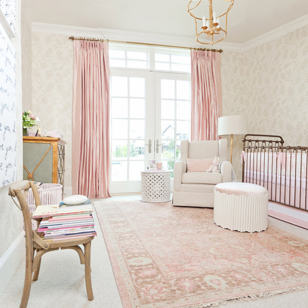 Simple Decorating Girl Nursery Design: Rachel Parcell Nursery Design