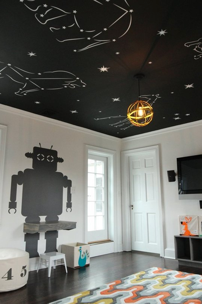 Accent Walls Or Ceiling For Your Nursery Make A