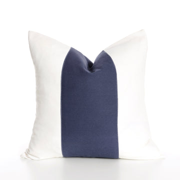 Indigo Band Pillow