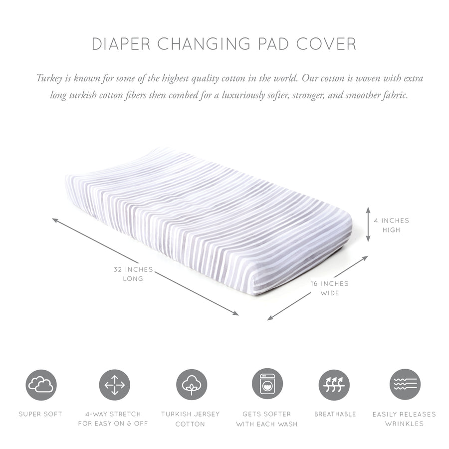 Ink Jersey Changing Pad Cover