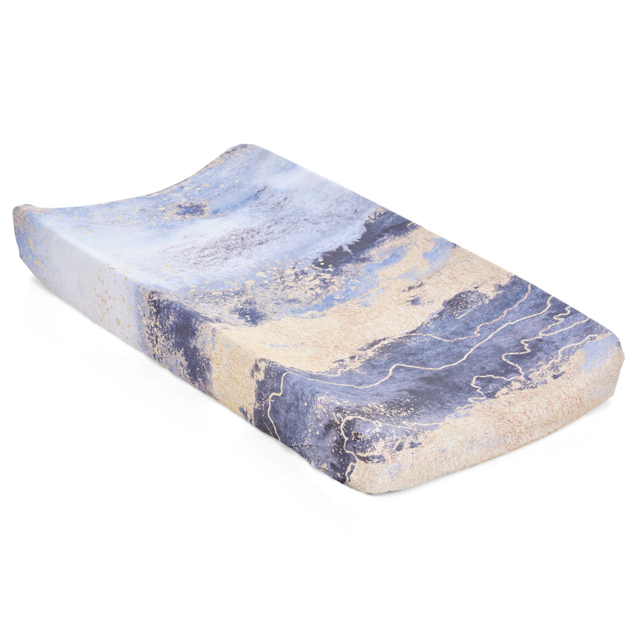 Midnight Sky Jersey Changing Pad Cover