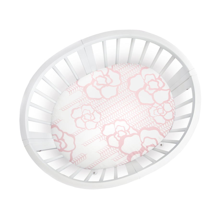 Bassinet Capri Crib Sheet