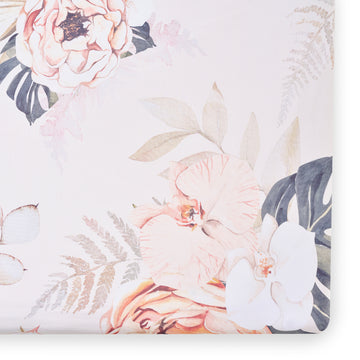 Vintage Bloom Floral Crib Sheet