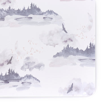 Misty Mountain Crib Sheet