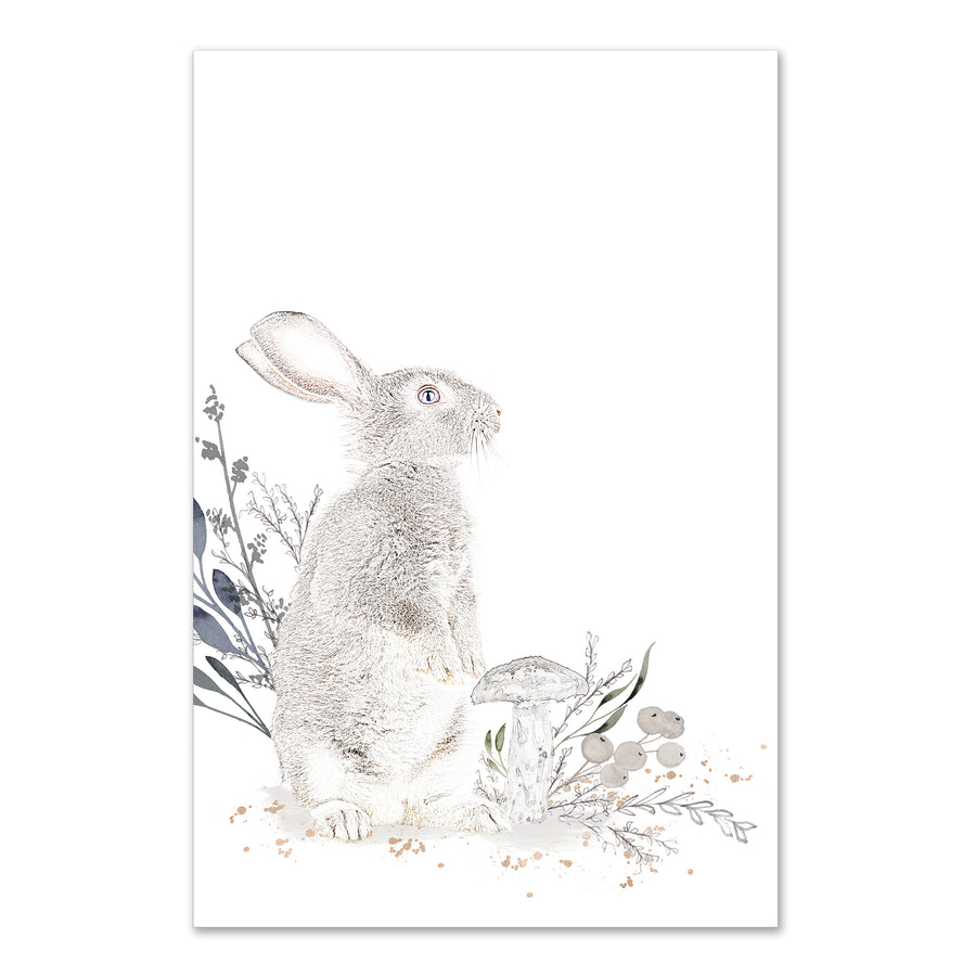 Cottontail Standing Fine Art