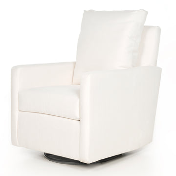 Quick Ship Photoshoot Sample Swivel Glider  – High Performance Ivory