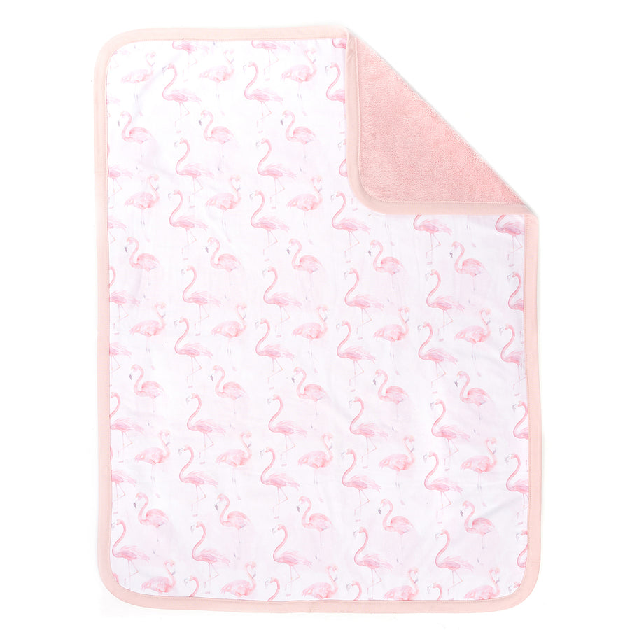 flamingo blanket design