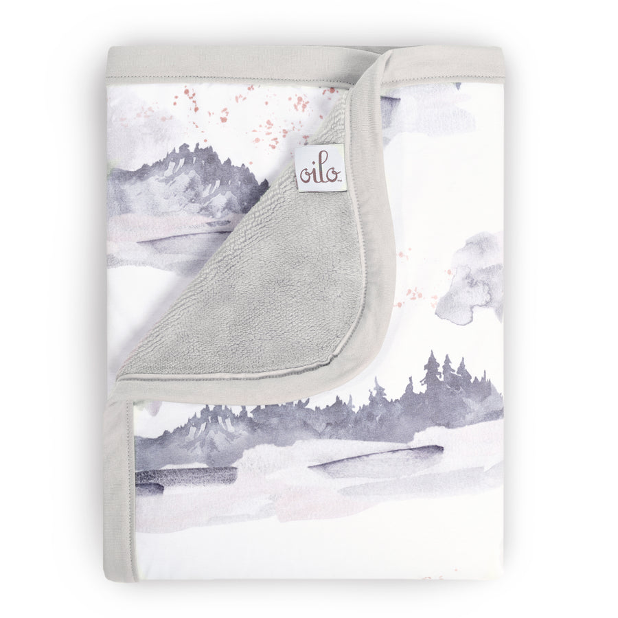 Misty Mountain Cuddle Blanket