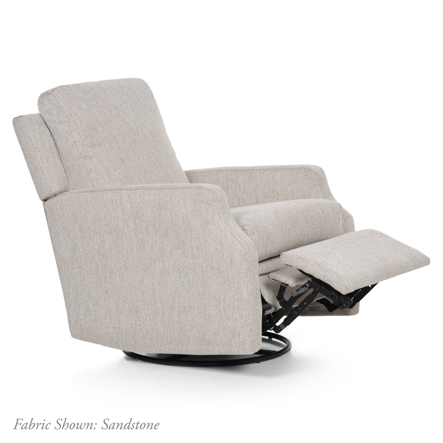 Harlow – Recliner Swivel Nursery Glider