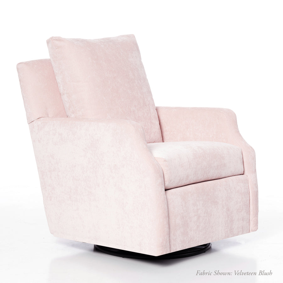 Harper Nursery Swivel Glider