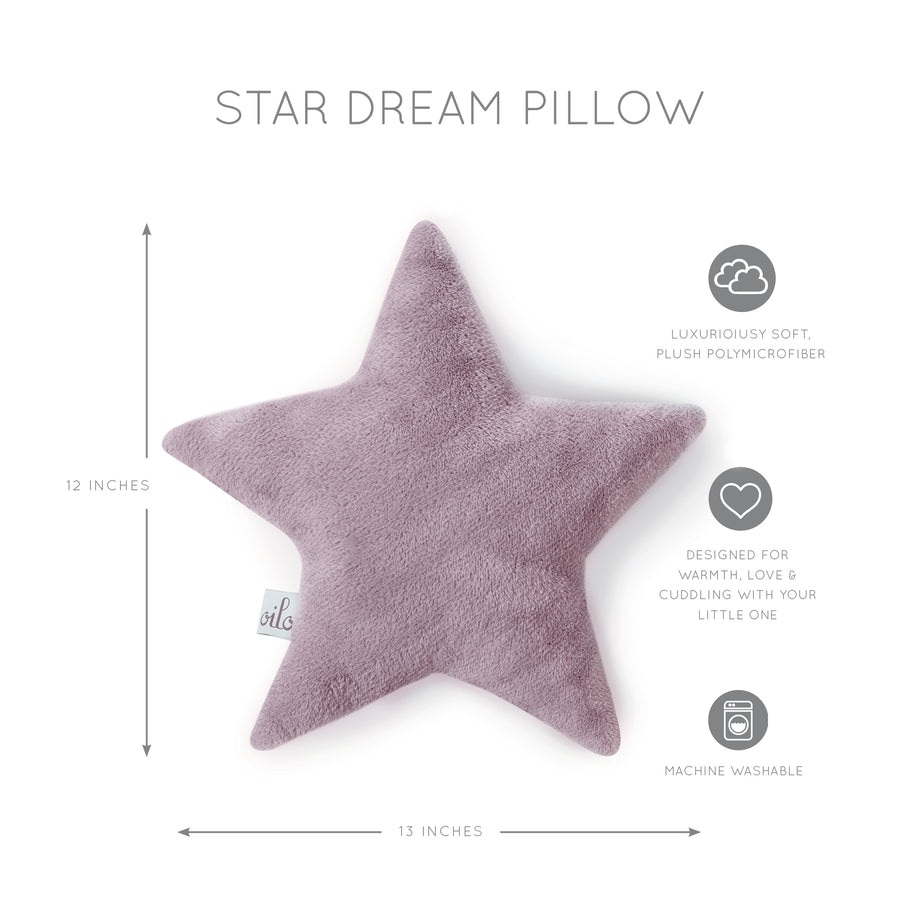 Lavender Star Pillow
