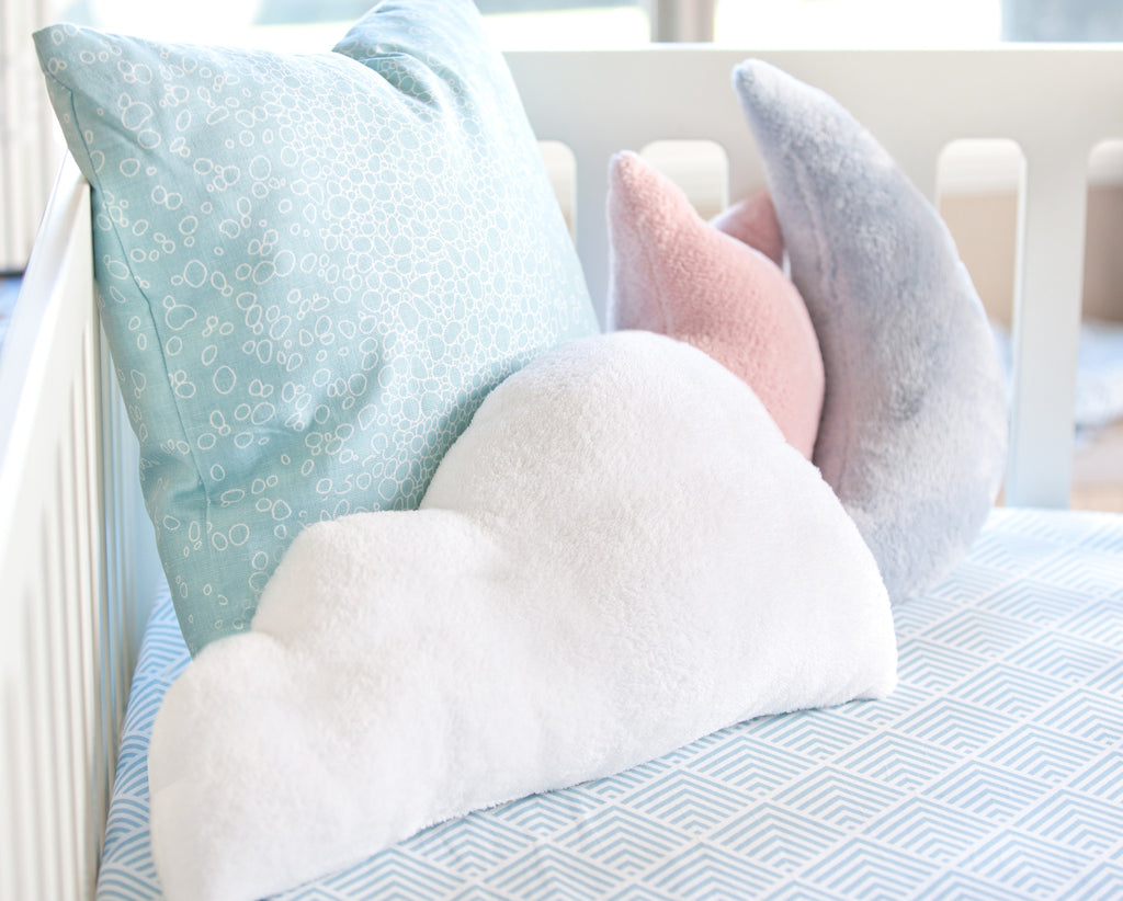 Aqua Moon Pillow