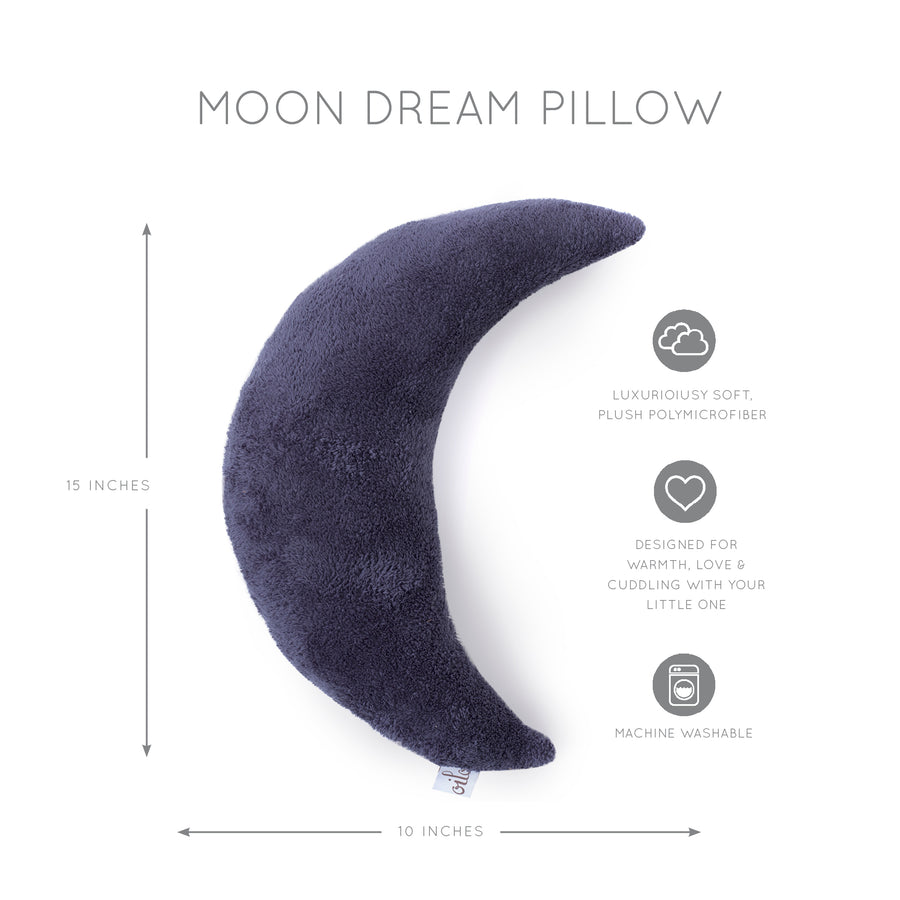 Indigo Moon Pillow