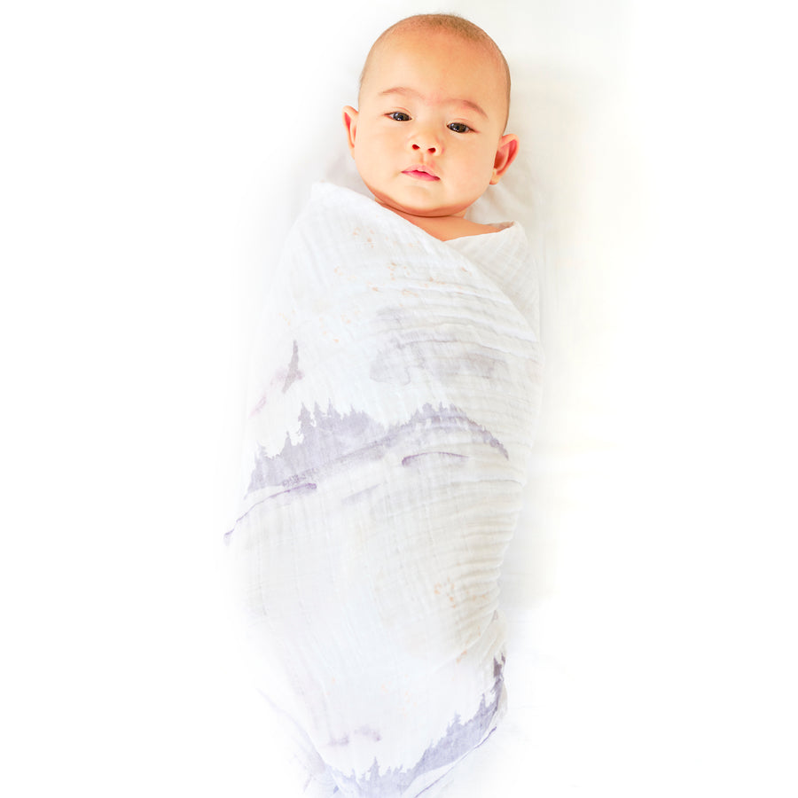 Misty Mountain Swaddle