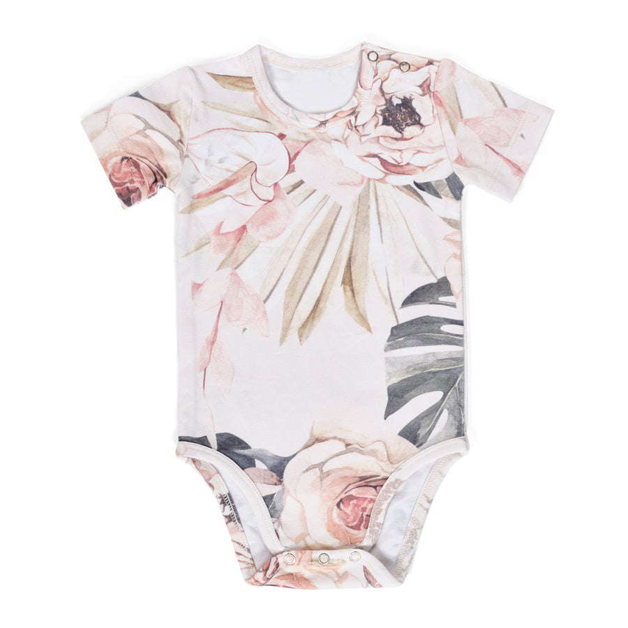 Vintage Bloom Gift Set- Onesie and Swaddle