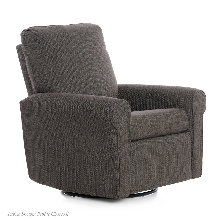 Orly – Recliner Swivel Nursery Glider
