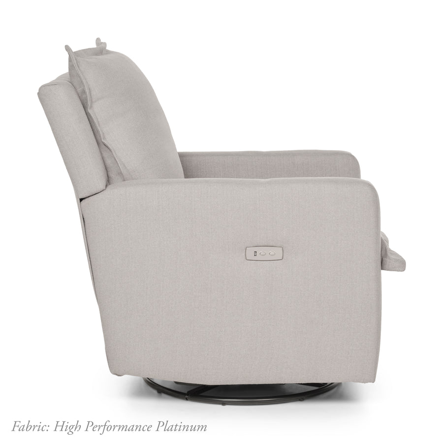 Flynn – Recliner Swivel Nursery Glider