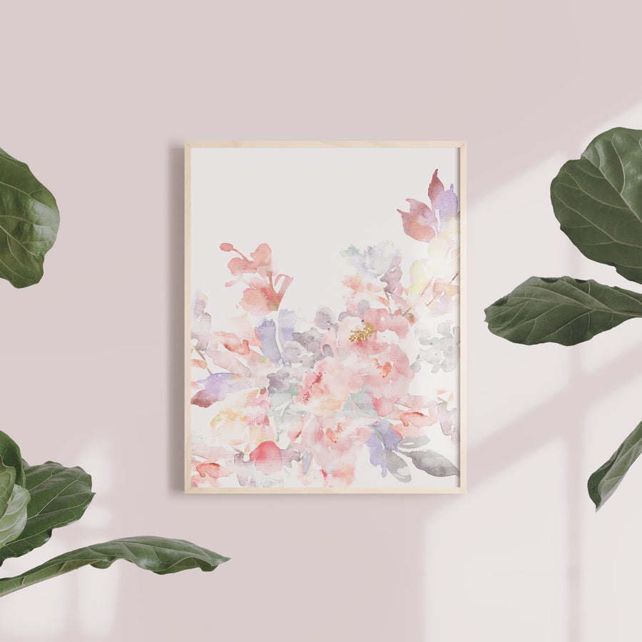 Prim Floral Wall Art