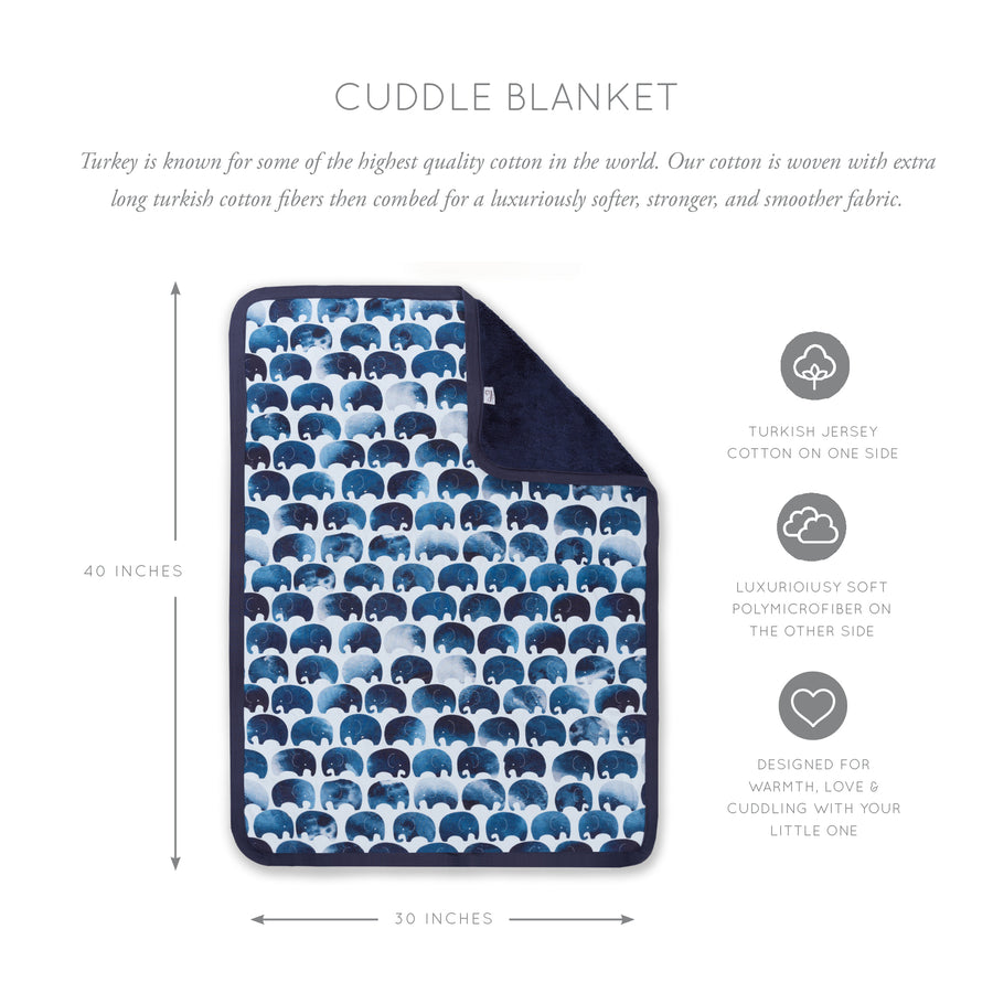 Elephant Cuddle Blanket