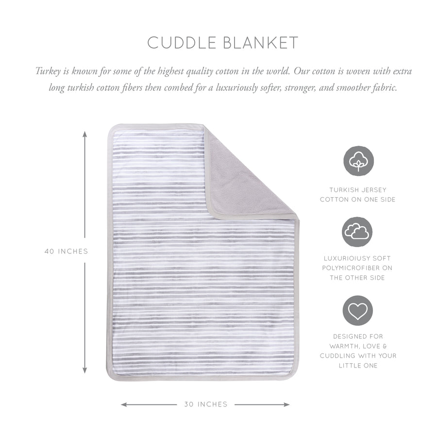 Ink Cuddle Blanket