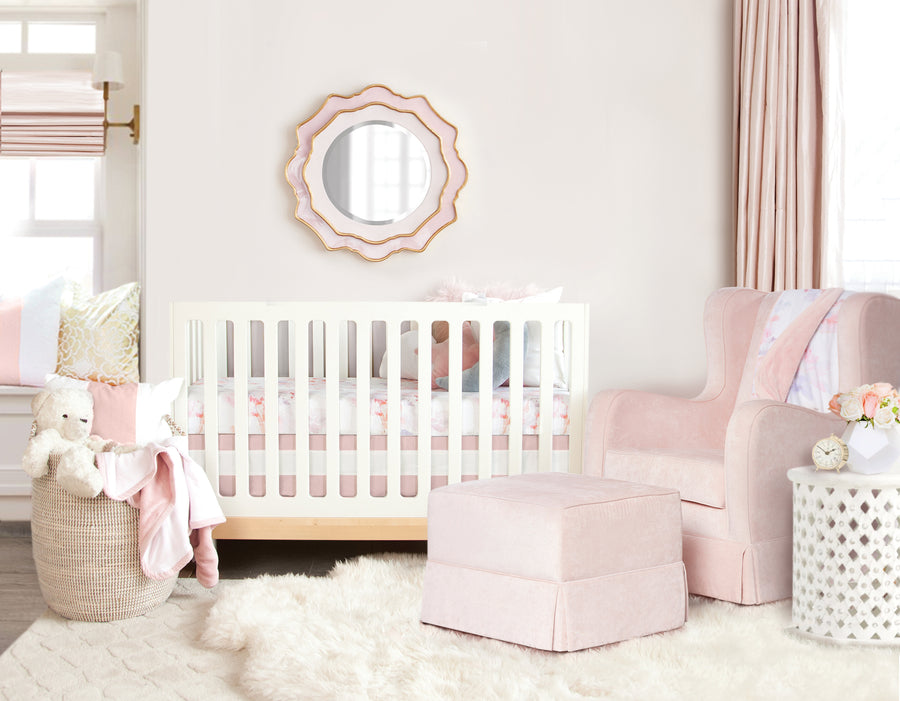 prim decorated nursery