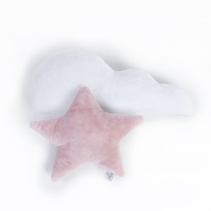 Blush Star Pillow
